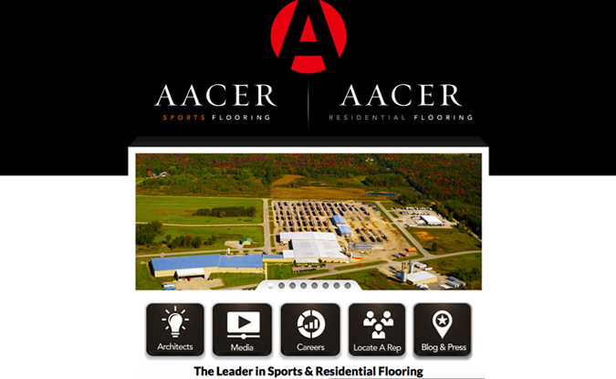 Aacer Flooring, Peshtigo, WI, Wisconsin Made Websites,Wisconsin website developers, Wisconsin WordPress Developers, manufacturing website design,wisconsin graphic designers
