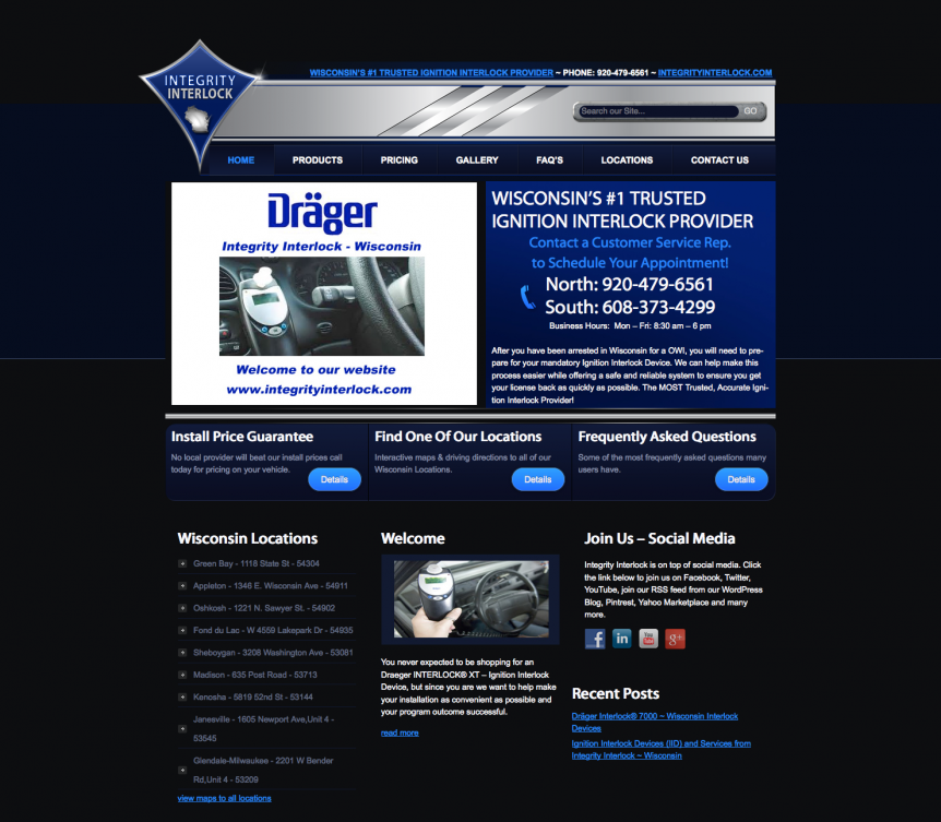 Integrity Interlock, wisconsin website designers, seo my website, fox valley web design,fvwd,appleton web design, green bay web developers, door county web design, wisconsin website designers