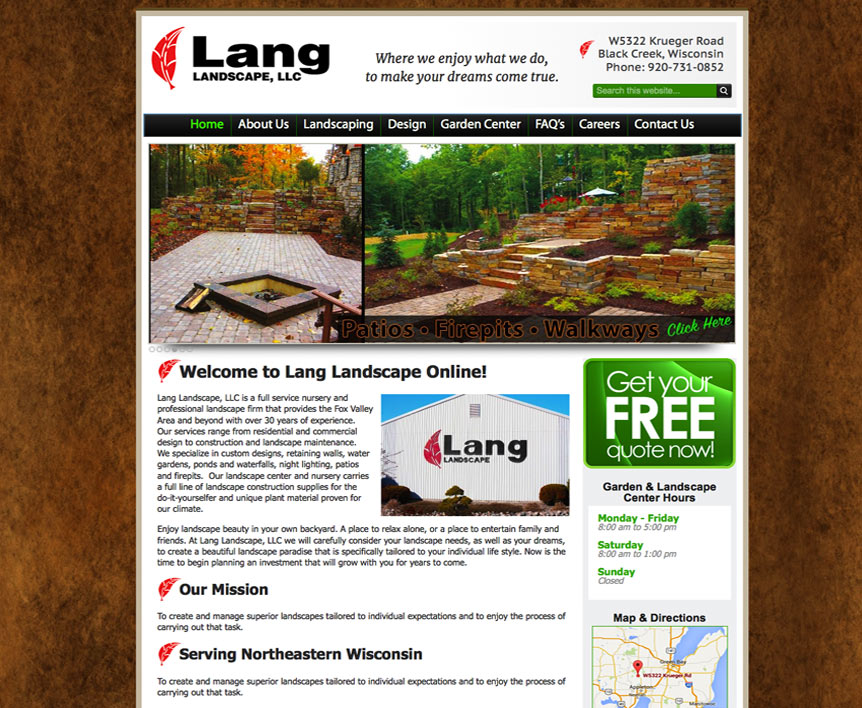 1dbc471a028 Fox Valley Web Design LLC • American Website Designers • Wisconsin ...