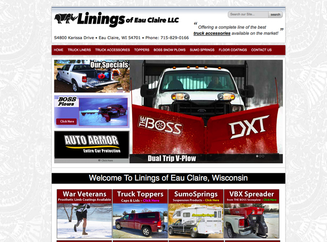 Linings of Eau Claire, Wisconsin,website designers in Wisconsin, Union web design, Wisconsin Made Websites,Wisconsin website developers, Wisconsin WordPress Developers,construction,home builders website design,seo,social media experts,WI web design, American website designers