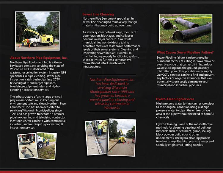 Northern Pipe Equipment Inc Fox Valley Web Design Llc