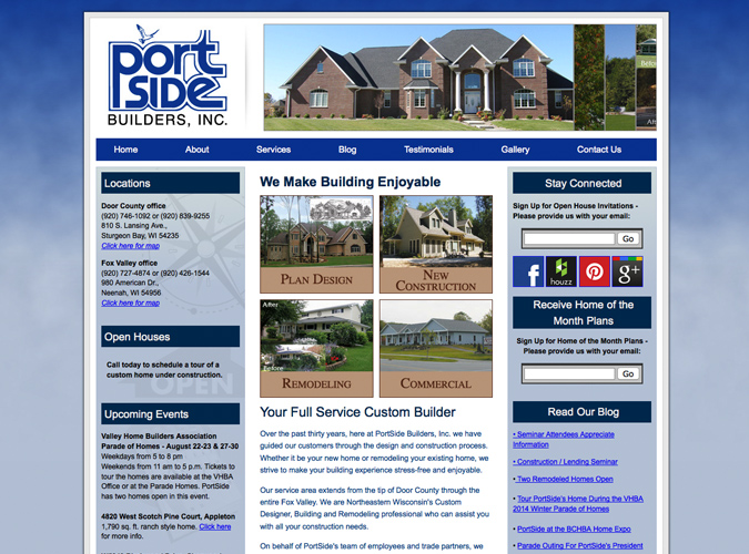 Portside Builders,wisconsin home builders,website designers in Wisconsin, Union web design, construction,home builders website design,real estate website developers in Wisconsin,Wisconsin Made Websites,Wisconsin website developers, Wisconsin WordPress Developers,seo,social media experts,WI web design, American website designers