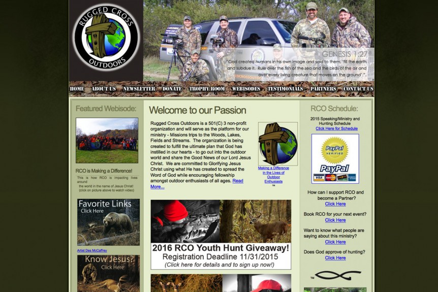 Rugged Cross Outdoors,wisconsin website design,michigan website design,christian website developers,christian website designers,wi seo companies,video production, outdoor website design,hunting, fishing