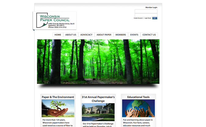 Wisconsin Paper Council, Appleton, WI, website designers in WI, graphic designers,Wisconsin Made Websites,Wisconsin website developers, Wisconsin WordPress Developers,Green Bay website design,Door County web design,development,WordPress website development,hosting,seo,search engine optimization