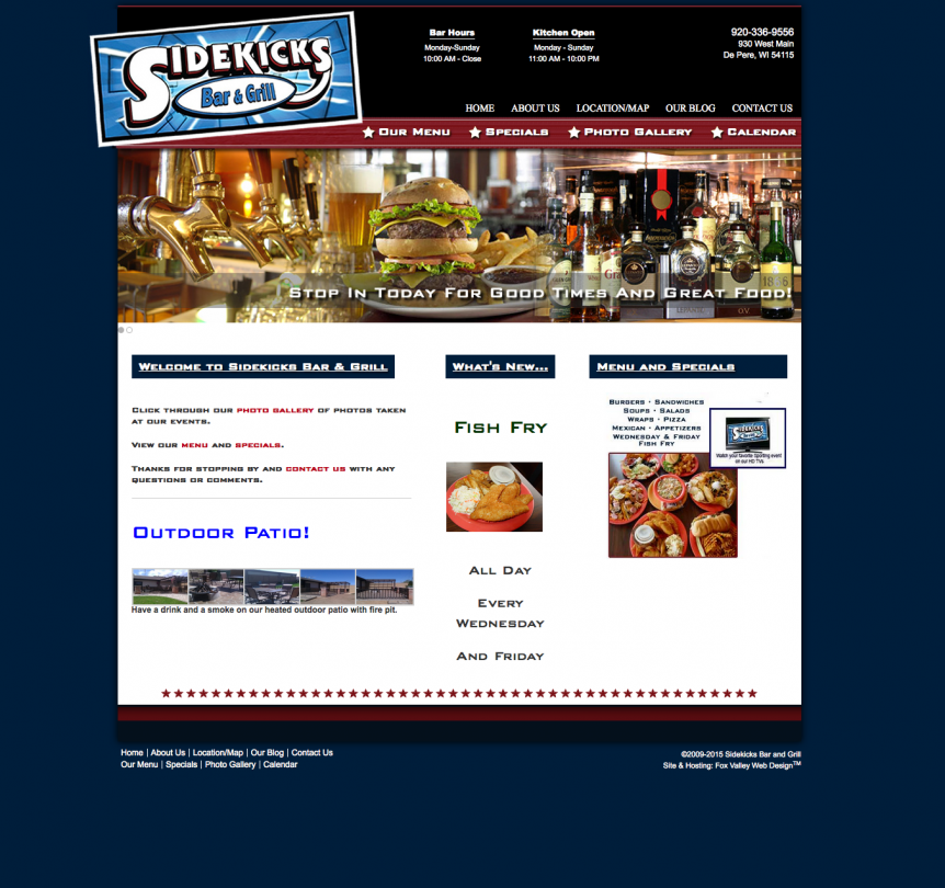 SideKicks, ecommerce hosting, american web developers, web designers near me, door county web design