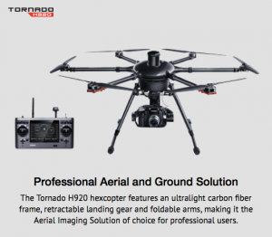 The Tornado H920 Hexacopter,drone photographers in Wisconsin,commercial photographers