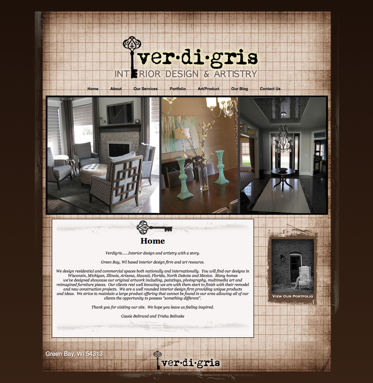 Verdigris Interior Design And Artistry Green Bay WI