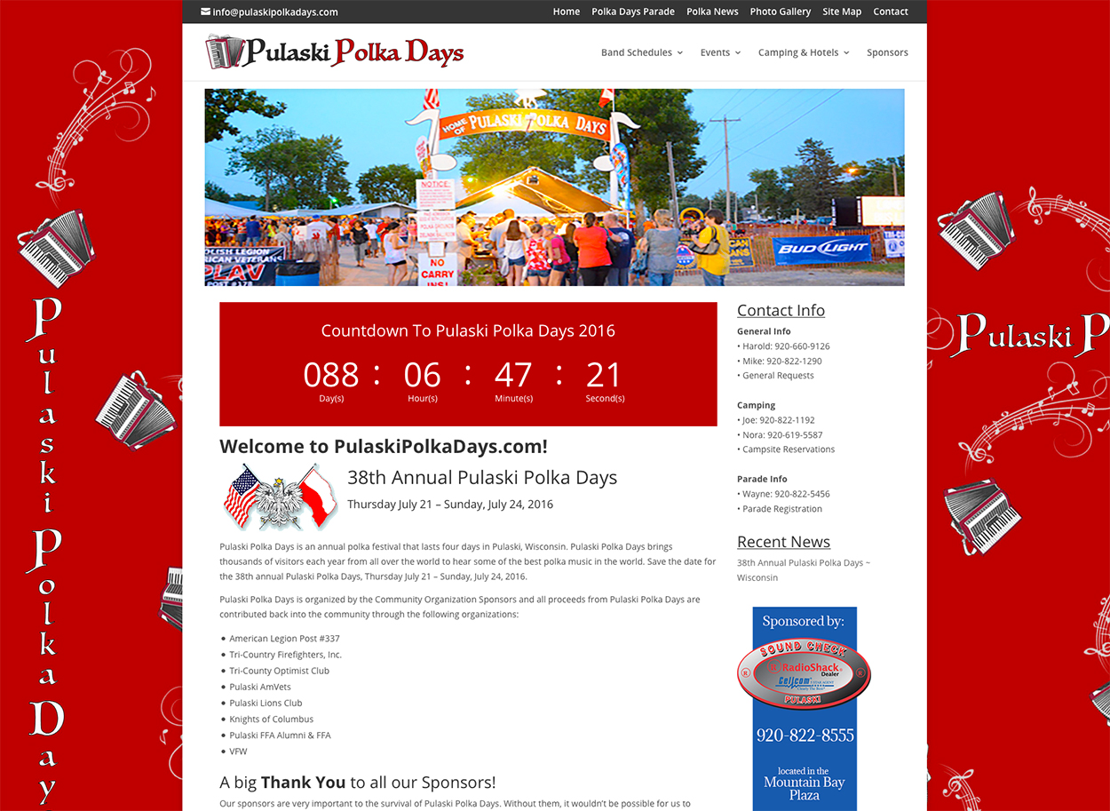 Pulaski Polka Days, Wisconsin, Pulaski, WI, polka music,outdoor festivals in Wisconsin,music festival
