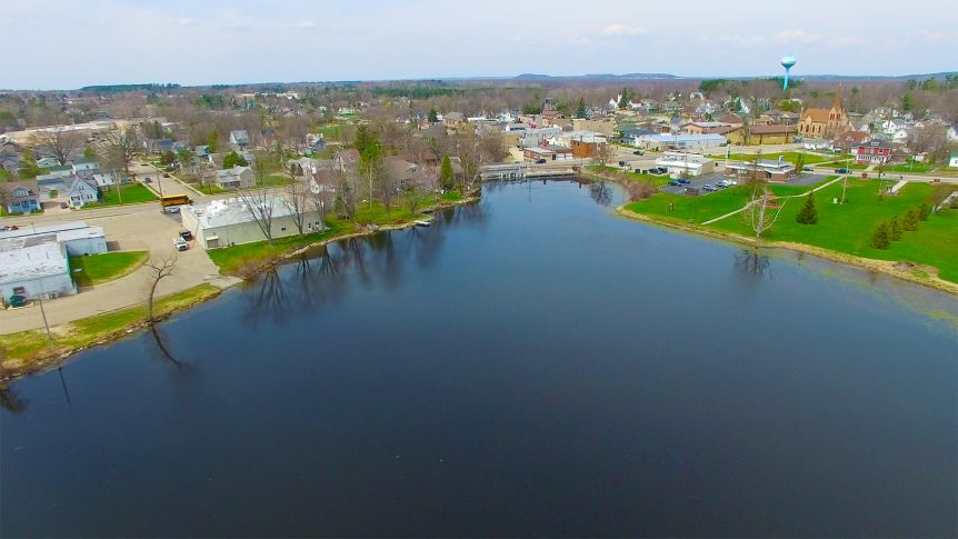 black otter lake, hortonville,wi,drone aerial photography,fox valley web design
