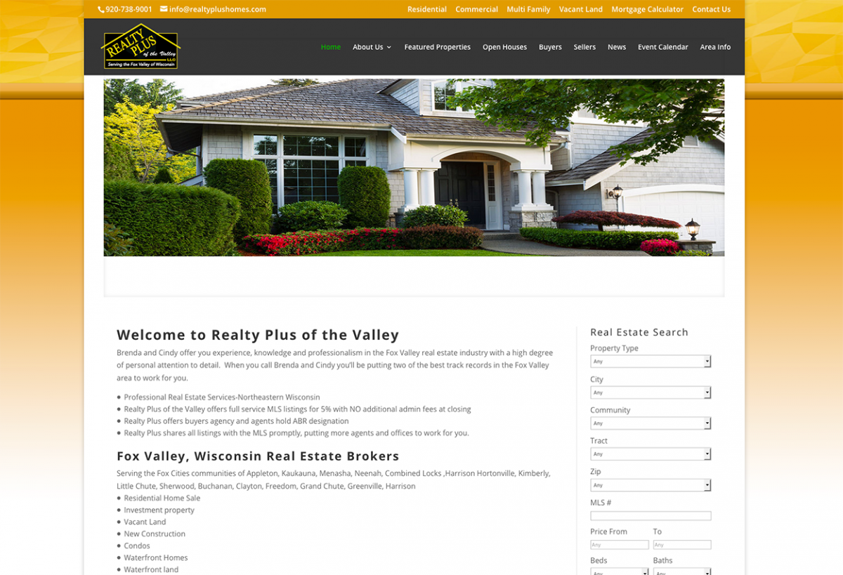 realty plus of the valley appleton wisconsin - Design Homes Wi