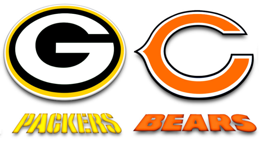 green bay packers, chicago bears, labaye blog,green bay blog,la baye blog,fox valley web design, nfl,packers - bears rivalry
