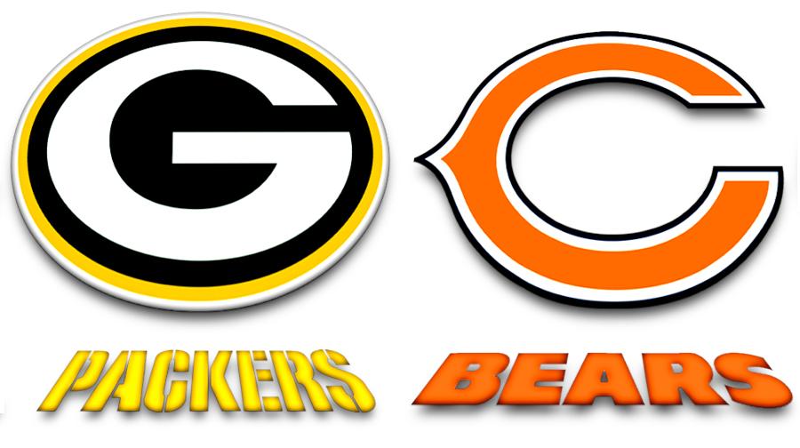 green bay packers, chicago bears, labaye blog,green bay blog,la baye blog,fox valley web design, nfl,packers - bears rivalry