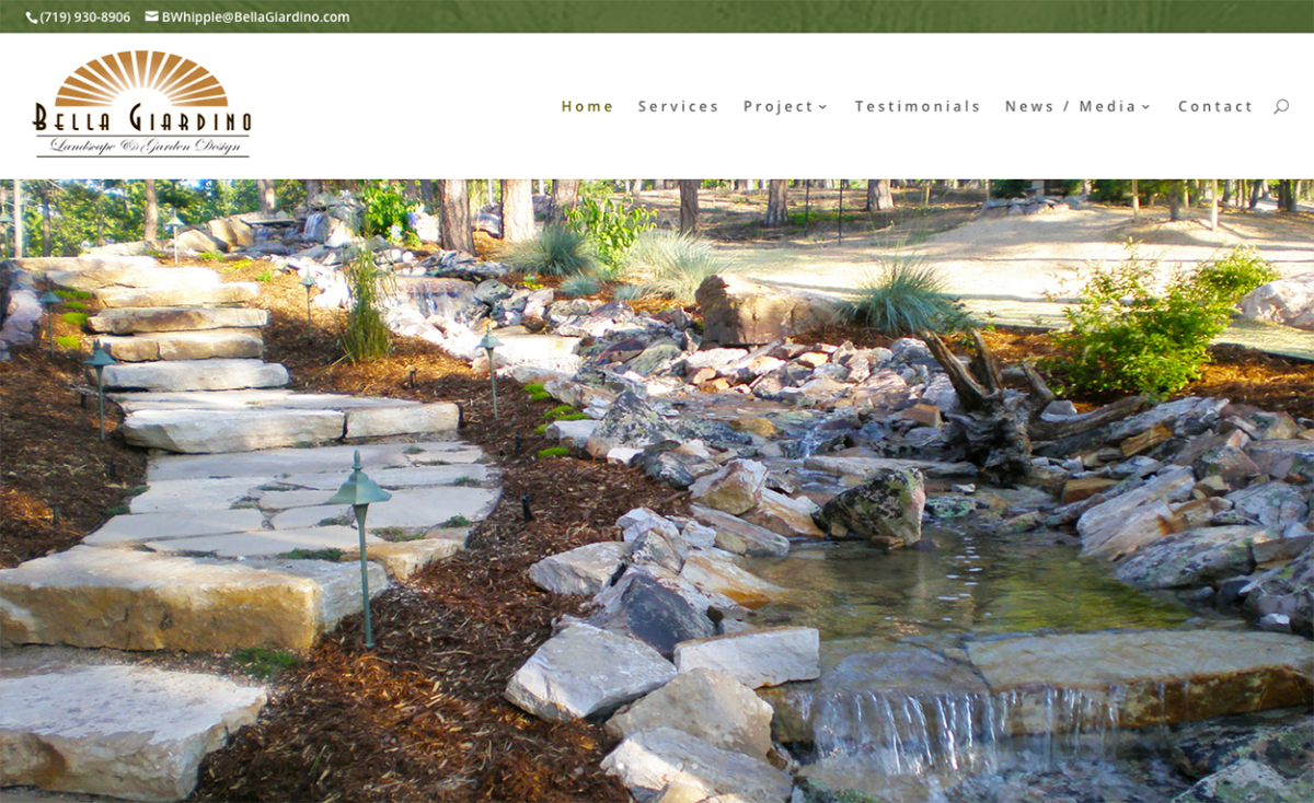 Bella Giardino Landscape & Garden Design,Colorado Landscapers,best seo company wi, ecommerce developer, company logo design, business logo design, custom logo design, best seo company,Colorado Springs Landscape companies,Landscaping Colorado Springs