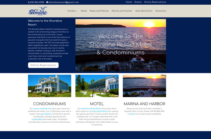 The Shoreline Resort, Door County Lodging websites,door county web designers,door county hosting providers,website hosting,door county hosting,door county design,wisconsin website designers,american website designers, web designer, webdesign, seo optimization, design a logo,brand marketing, seo expert, best website design, design logo, web design and development