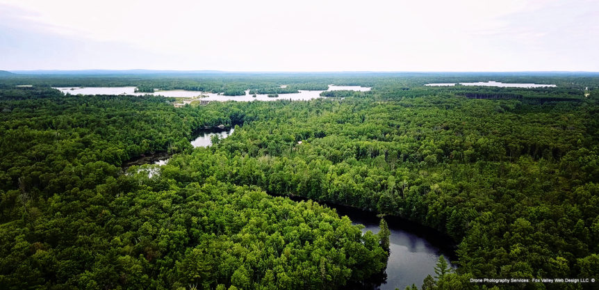 high falls flowage,marinette county,crivitz,drone aerial photos,fox valley web design,fvwd,pilots for hire,drone operators,peshtigo river