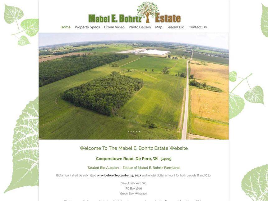 Sealed Bid Auction – Estate of Mabel E  Bohrtz Wisconsin
