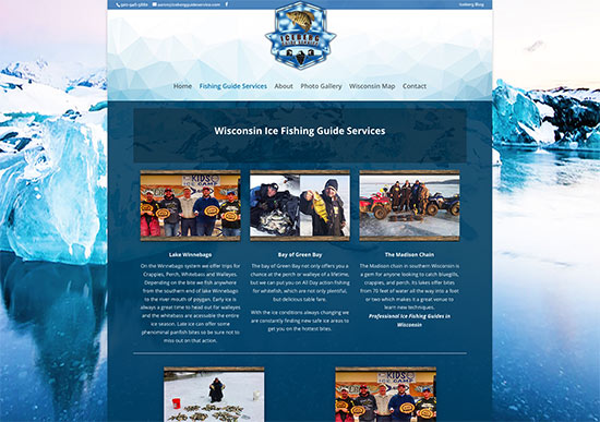 Iceberg Guide Service, WI Ice fishing guides,sheboyan,lake michigan,fvwd,Lake Winnebago, Bay of Green Bay, Door County, Madison Chain,professional fishing guide Wisconsin Made Website ~ Wisconsin website developers,Green Bay, Wisconsin, website designers,developers,seo,social media experts,hosting