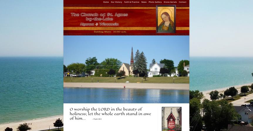 St Agnes by the Lake,Lake Michigan,Algoma,church,st agnes agloma,christian,jesus christ,god,GOD,Anglo-Catholic tradition of the Episcopal Church