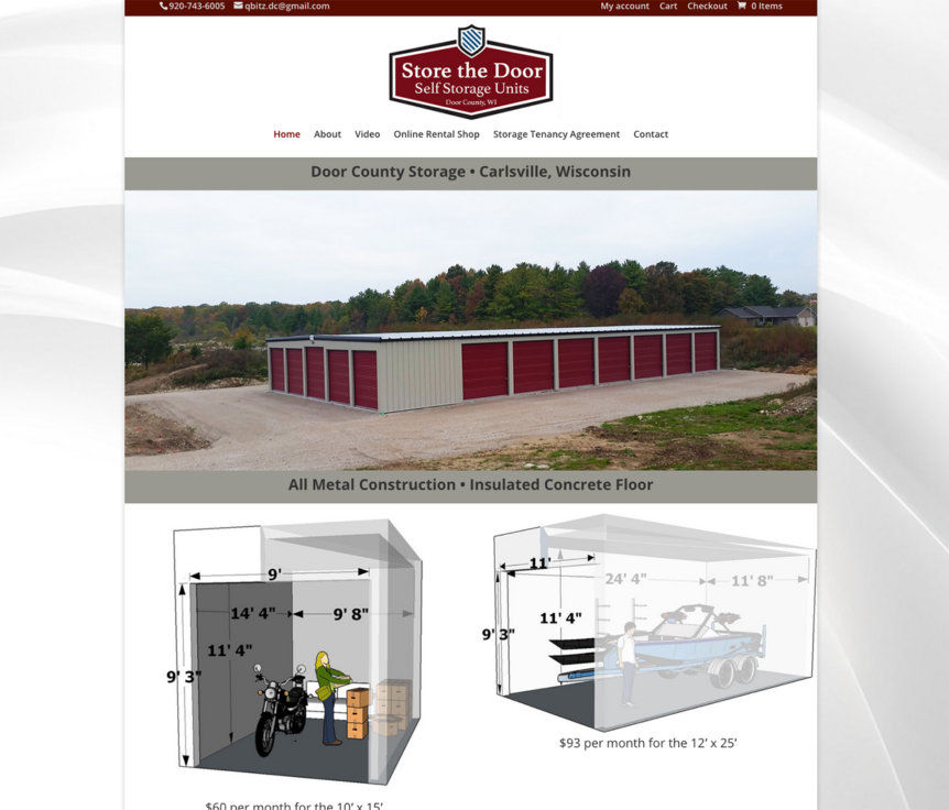 storedoorcounty.com, door county storage rentals, door county storage units, carlsville wi storage units,door county web designers,wisconsin website designers,wi seo firms