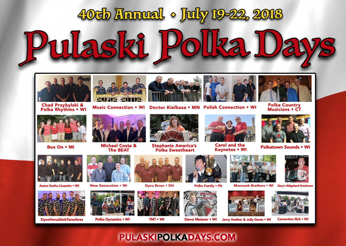 Pulaski Polka Days,Wisconsin,Fox Valley Web Design,Wisconsin graphic designers,wisconsin music festival