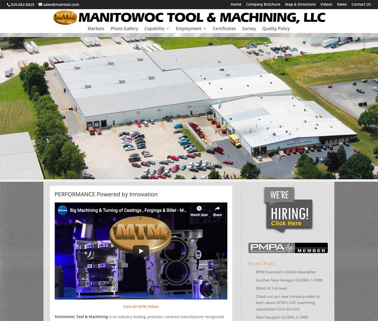 Manitowoc Tool & Machining LLC ~ Manitowoc, Wisconsin