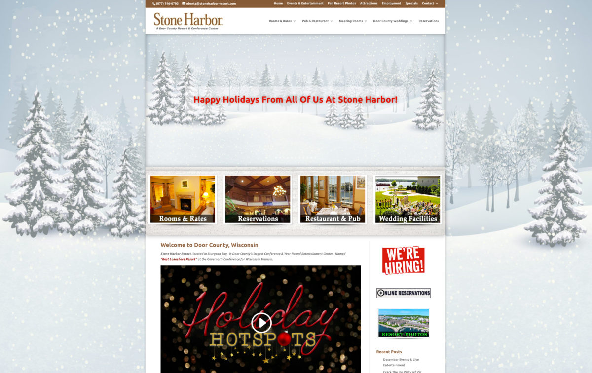 stone harbor resort,door county lodging, door county website designers,door county web developers,sturgeon bay resorts,door county wi resorts,wisconsin vacation resorts,water front lodging