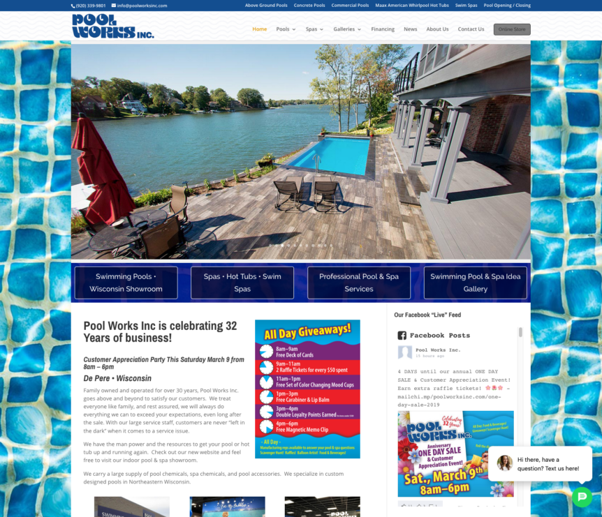 pool works inc,fox valley web design,green bay,wisconsin,spa,hot tubs,cad,CAD,custom design