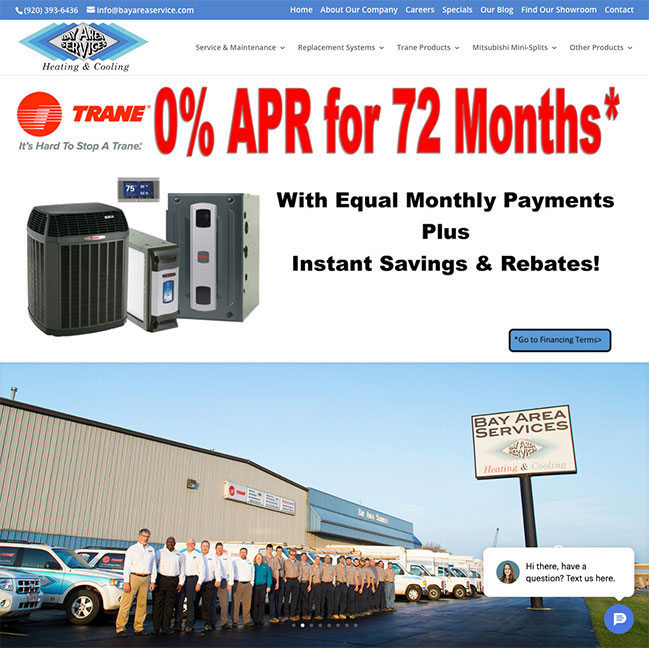 Bay Area Services Heating & Cooling