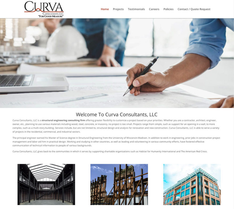 Curva Consultants LLC, structural engineering consulting firms, green bay wisconsin